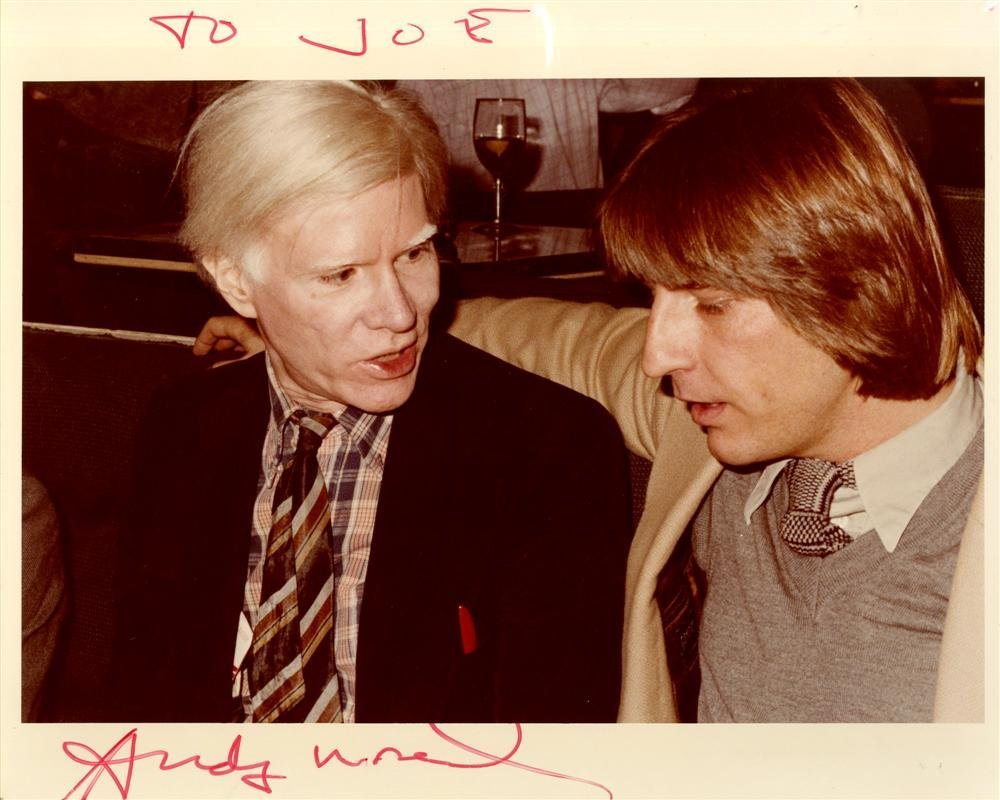 618: ANDY WARHOL - Andy Warhol & Joe Blahut