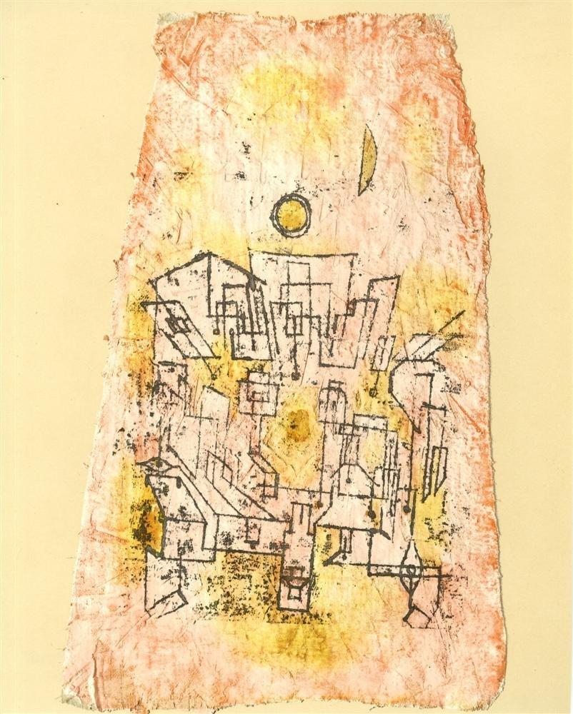 """621: PAUL KLEE - Arabian City [""""Arabische Stadt""""]"""