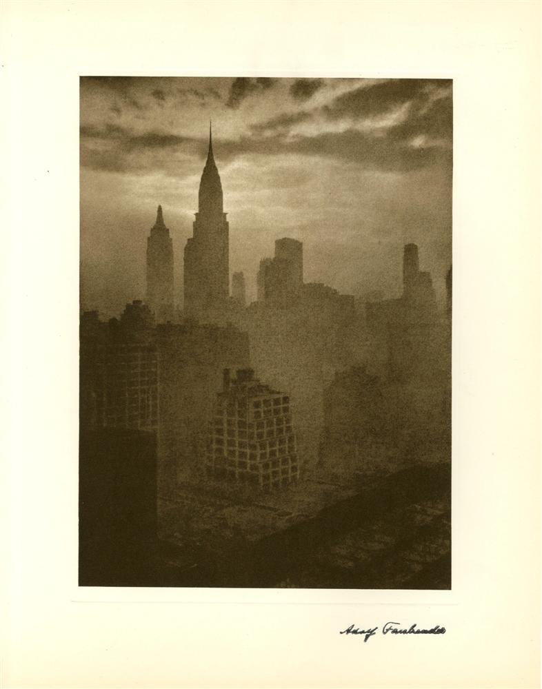 624: ADOLF FASSBENDER - At Dusk [New York City]