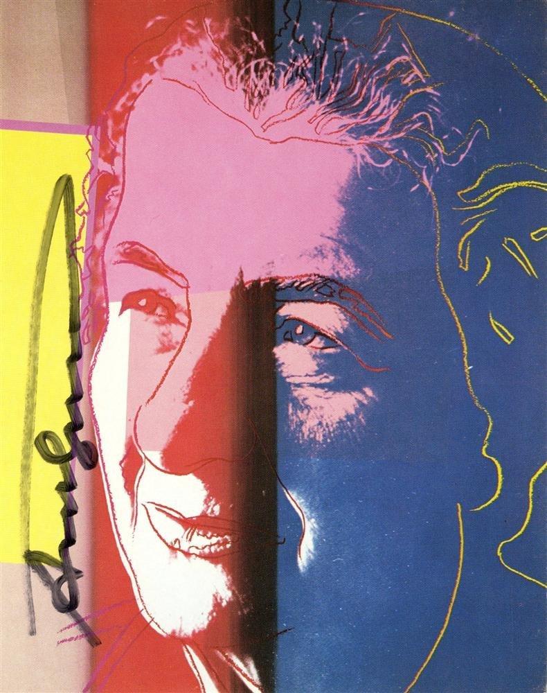 829: ANDY WARHOL - Golda Meir