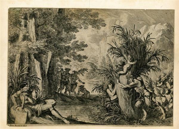 984: JEAN LE PAUTRE - Pan et Syrinx