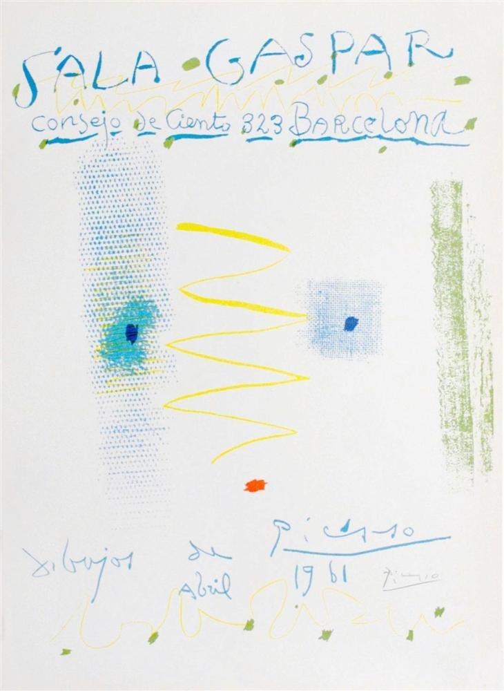 1213: PABLO PICASSO - Affiche - Dibujos de Picasso -