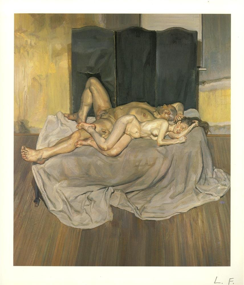 1218: LUCIAN FREUD - And the Bridegroom