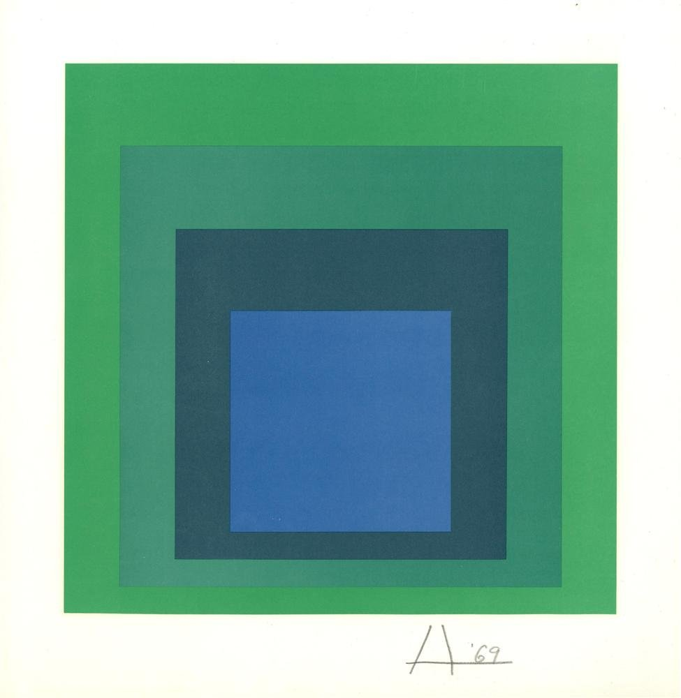 1411: JOSEF ALBERS - Homage to the Square: