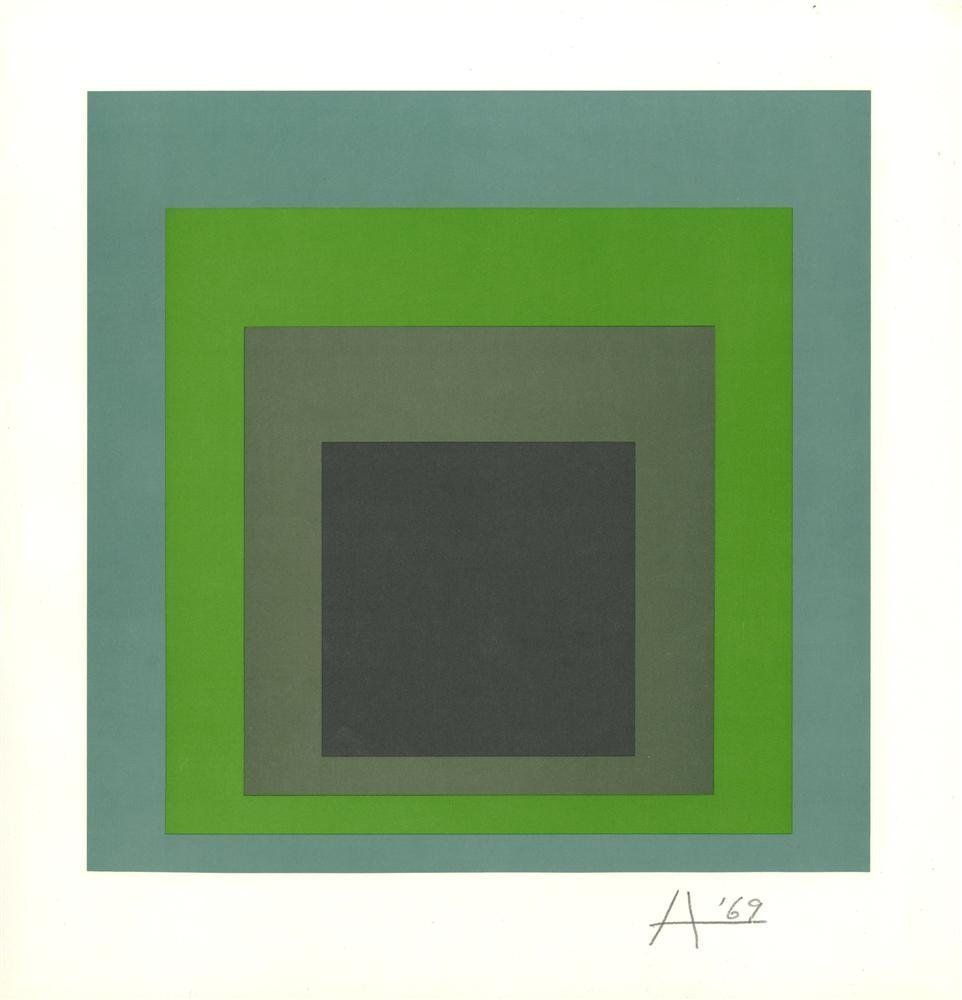 1426: JOSEF ALBERS - Homage to the Square: Soft Spoken