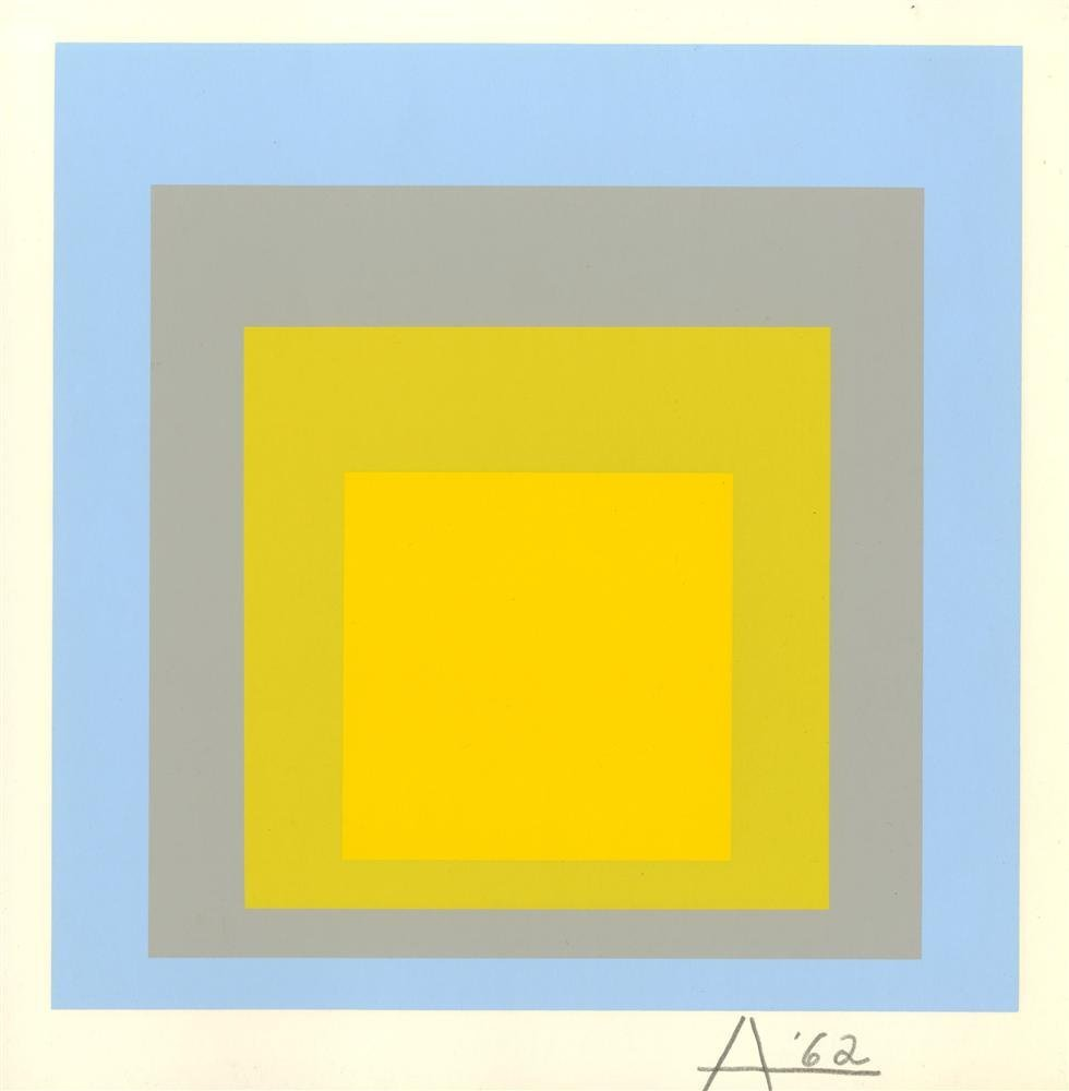 1429: JOSEF ALBERS - Homage to the Square: Wide Light
