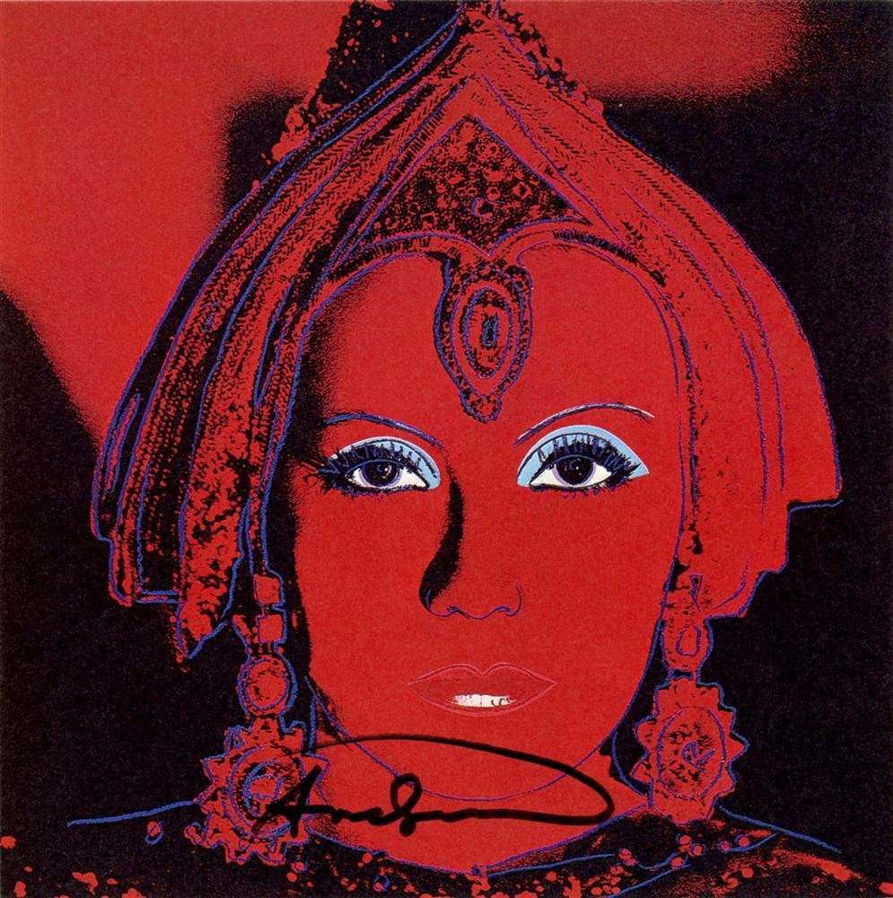 1705: ANDY WARHOL - The Star [Greta Garbo as Mata Hari]