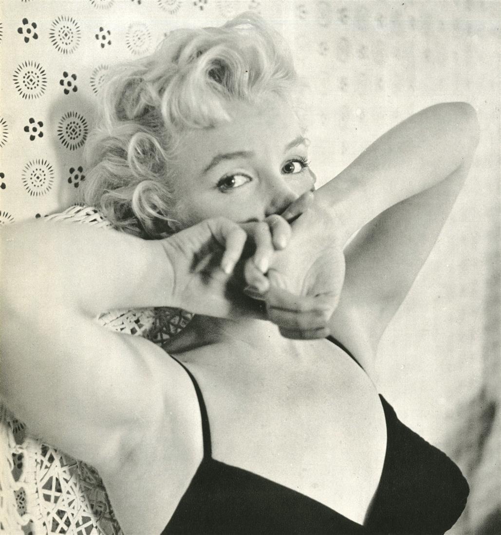 335: CECIL BEATON - Marilyn Monroe 1956 #2