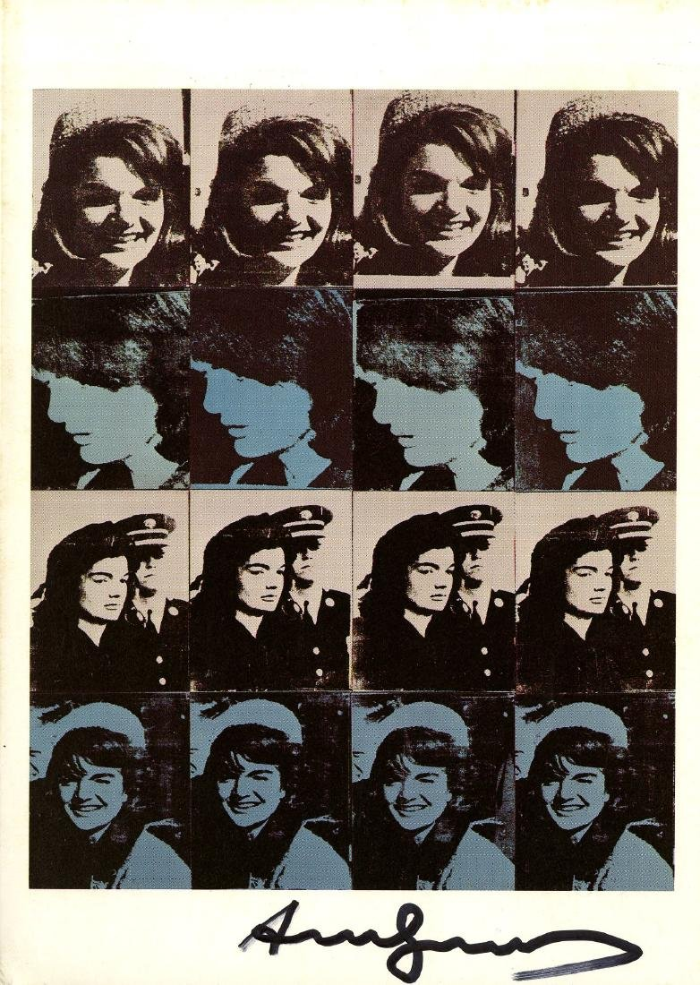 1202: ANDY WARHOL - 16 Jackies