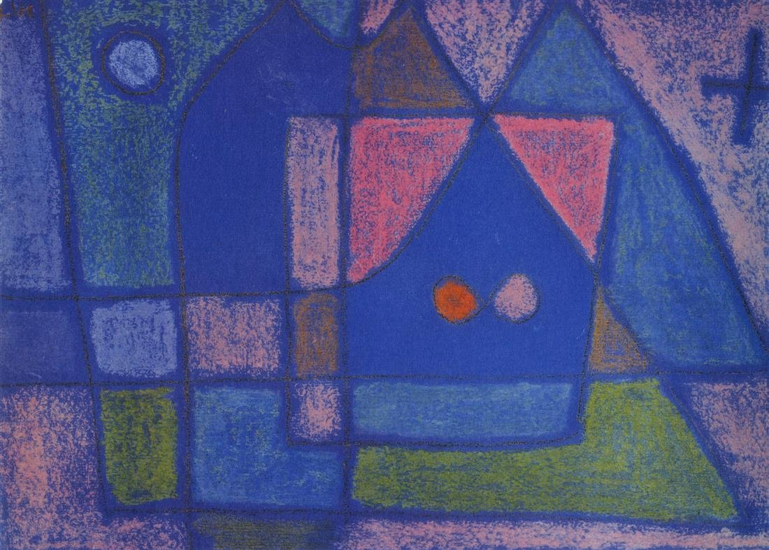 "1204: PAUL KLEE - A Little Room in Venice [""Ein"