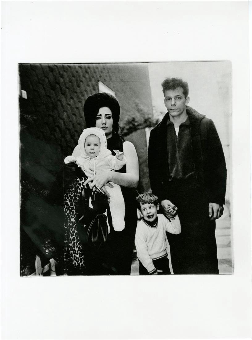 1206: DIANE ARBUS - A Young Brooklyn Family Going for a