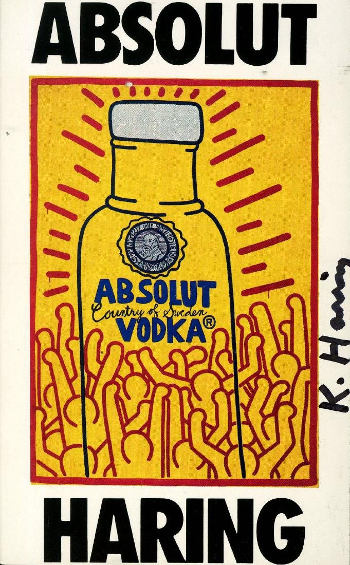 1207: KEITH HARING - Absolut Haring