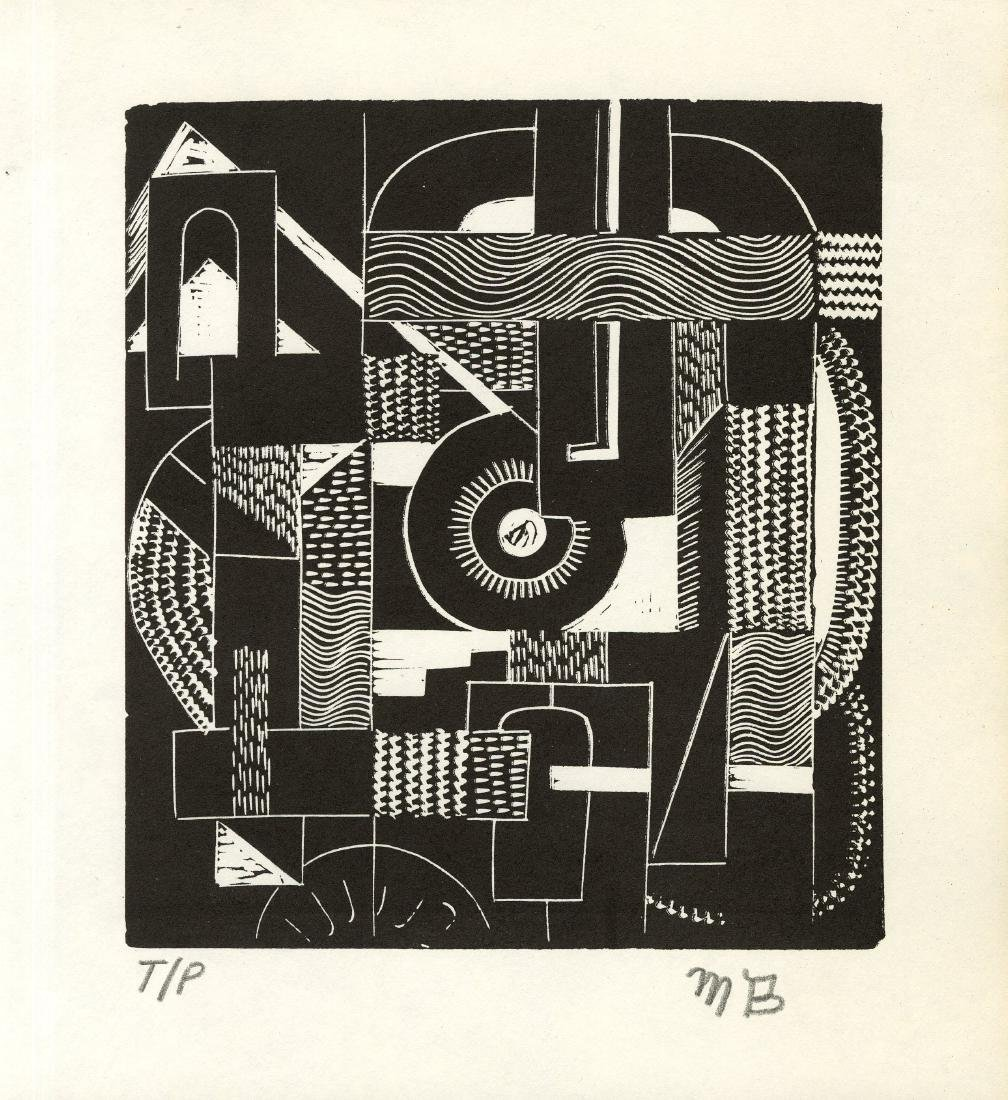 1208: MARGARET BURROUGHS - Abstraction