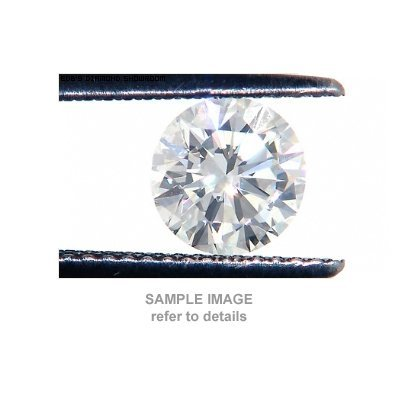 ACA Certified 0.55ctw Diamond Round Cut SI3/I-J