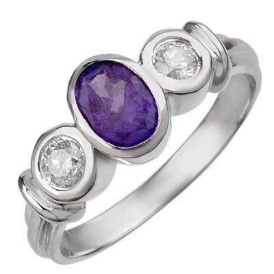 Rare 1.05ctw Diamond & Tanzanite Ring