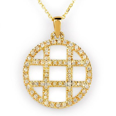 Famous Necklace 2.0ctw ACA Certified Diamond 14K Gold