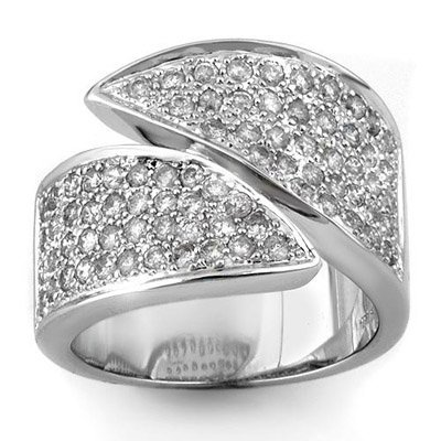 Certified 1.50ctw Diamond Right-Hand Ring White Gold