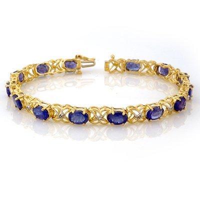 Bracelet 12.05ctw ACA Certified Diamond & Tanzanite
