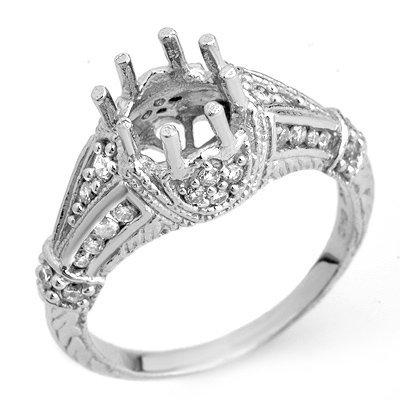 Anniversary 0.75ctw ACA Certified Diamond Semi-Ring