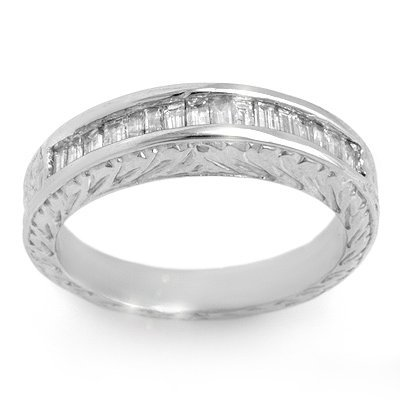 Anniversary 1.33ctw ACA Certified Diamond Band 14K Gold