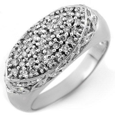 Bridal 0.75ct ACA Certified Diamond Ring 14K White Gold