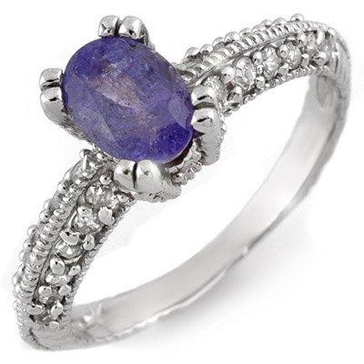 Fine 2.0ctw ACA Certified Diamond & Tanzanite 14K Ring