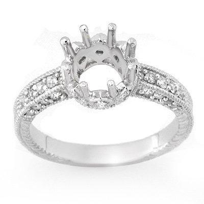 Anniversary 0.50ctw ACA Certified Diamond Semi-Ring