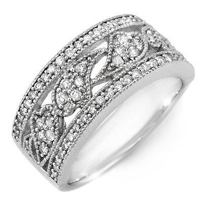 Bridal 0.75ctw ACA Certified Diamond Anniversary Band