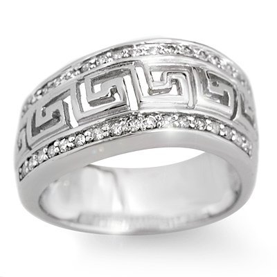 Bridal 0.33ctw ACA Certified Diamond Band White Gold