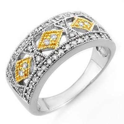 Bridal 0.50ctw ACA Certified Diamond Anniversary Band