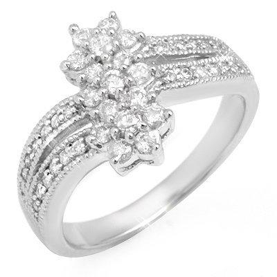 Anniversary 0.75ctw ACA Certified Diamond Ladies Ring