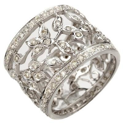 Overstock 1.30 ctw Certified Diamond Ring 14K Gold