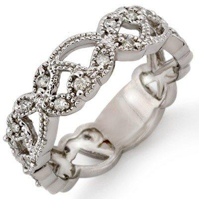 Bridal 0.25ctw ACA Certified Diamond Anniversary Band