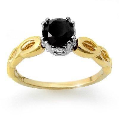Natural 1.45 ctw Diamond Ring 14K Multi tone Gold