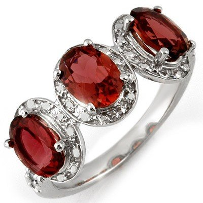 Genuine 2.33 ctw Pink Tourmaline & Diamond Ring Gold
