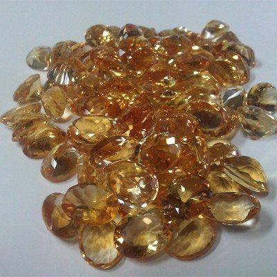 Extra clean 785 carats Loose Citrine Oval cut