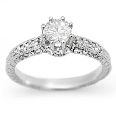 ACA Diamond 0.85ct Engagement Anniversary Ring 14K Gold