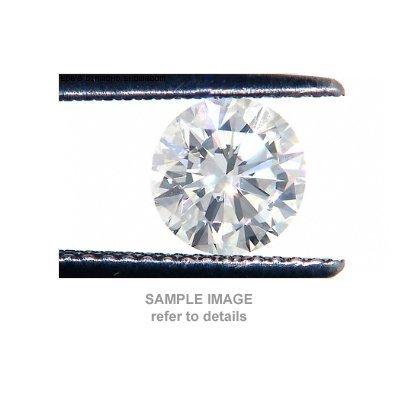 ACA Certified 0.65ctw Diamond Round Cut SI1/G-H