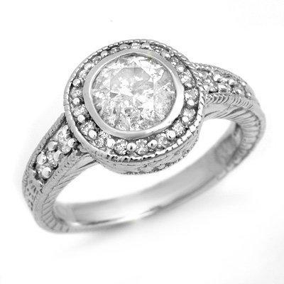 Solitaire 1.35ct Diamond Engagement Anniversary Ring