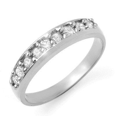 Anniversary Wedding Band 0.50ctw Diamond 14K Gold