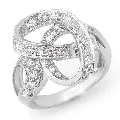 Overstock 0.75ctw Diamond Right-Hand Ring 14K Gold
