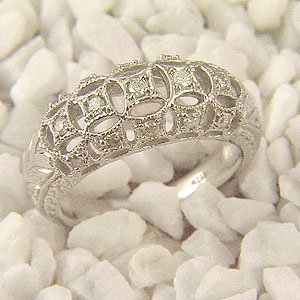 Natural 0.33 ctw Diamond Ring 14k Gold