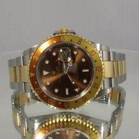 661288028: Rolex GMT Master II Mens 2002 - Original - P