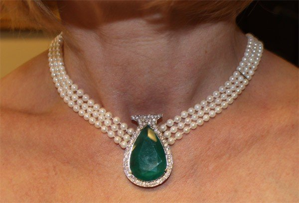 8888888888: Magnificent One of a Kind Diamond Necklace