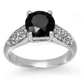 Natural 2.75 ctw Diamond Ring 10K White Gold