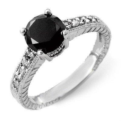 Natural 2.05 ctw Diamond Ring 14K White Gold