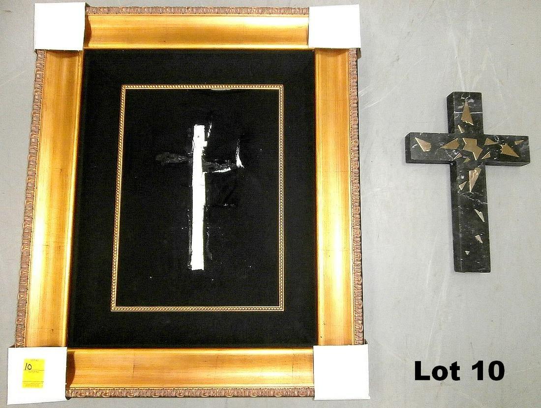 "3D Sculpture ""The Cross"" by Salvador Dali"