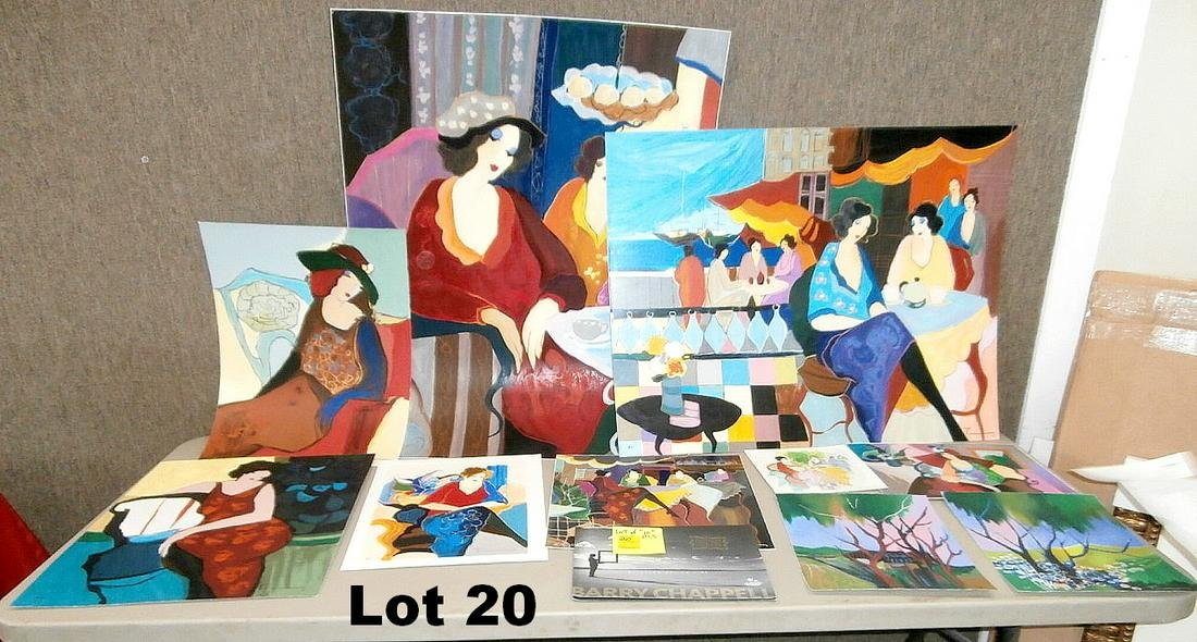 Lot of 10 Pieces by Tarkay