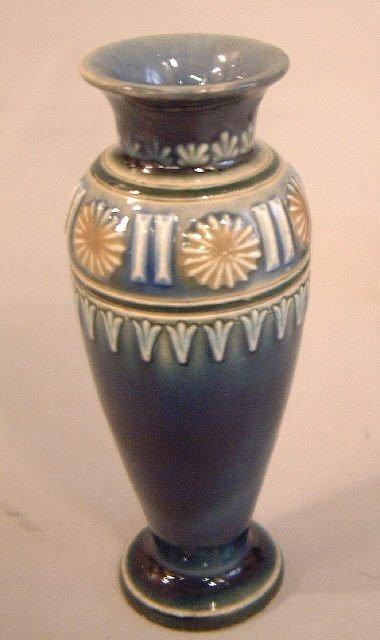 3: Doulton Lambeth art pottery vase