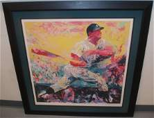 90: LeRoy Neiman Mickey Mantle Serigraph AP 37 of 70